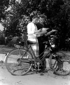 Pier Angeli and James Dean. by shadees, via Flickr