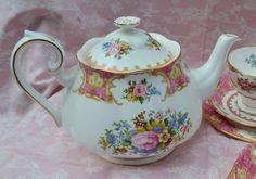 Royal Albert Lady Carlyle Teapot -