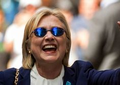 About Those Mysterious Blue Sunglasses Hillary Was Wearing At The 9/11 Memorial…