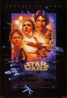 A fantastic Star Wars Episode IV: A New Hope movie poster! Be a good Jedi and check out the rest of our awesome selection of Star Wars posters! Need Poster Mo Star Wars Film, Star Wars Poster, Star Wars Episódio Iv, Star Wars Watch, Star Wars Art, Star Wars Episode 4, Episode Iv, Mark Hamill, Retro Posters