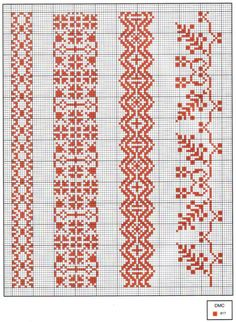Gallery.ru / Фото #50 - Las Labores de Ana 027 - tymannost Cross Stitch Sampler Patterns, Blackwork Patterns, Blackwork Embroidery, Cross Stitch Borders, Cross Stitch Samplers, Cross Stitch Flowers, Cross Stitching, Cross Stitch Embroidery, Knitting Charts