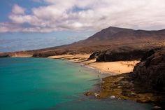 Papagayo beach. Playa Blanca. Lanzarote.