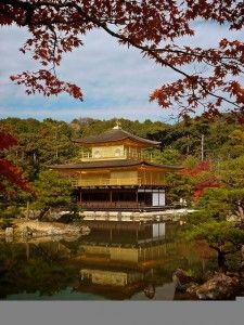 Kyoto- Kinkakuji-- the Golden Temple. Oh The Places You'll Go, Great Places, Places To Travel, Places Ive Been, Beautiful Places, Places To Visit, Temple Of The Golden Pavilion, Golden Temple, Paradise Places