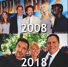 They have not aged< top pick isn't from 2008 that's the premier of Iron Man 2 which came out in 2010 so yeah have a nice day