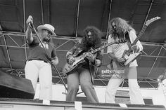 Allen Collins, Artimus Pyle, Ronnie Van Zant, Leon Wilkeson and Gary Rossington of Lynyrd Skynyrd Get premium, high resolution news photos at Getty Images Gary Rossington, Classic Rock Artists, Allen Collins, F Pictures, Photos, Ronnie Van Zant, Greys Anatomy Memes, Lynyrd Skynyrd, Judas Priest