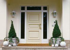 front door flower pot ideas - Google-søk