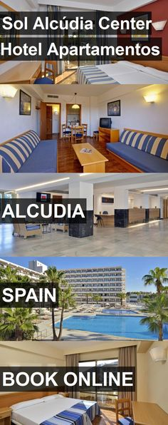 Hotel Sol Alcúdia Center Hotel Apartamentos in Alcudia, Spain. For more information, photos, reviews and best prices please follow the link. #Spain #Alcudia #hotel #travel #vacation