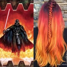 45 Star Wars-Inspired Rainbow Hair Looks That Will Blow Your Mind