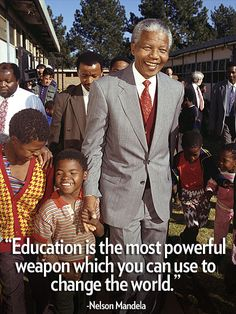 – Mandela, who championed for education rights and also inspired Oprah Winfrey to open the Oprah Winfrey Leadership Academy for Girls in South Africa  http://www.people.com/people/package/gallery/0,,20763535_20708552,00.html#21345301