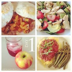 Whole30: Week 1's Complete Meal Plan