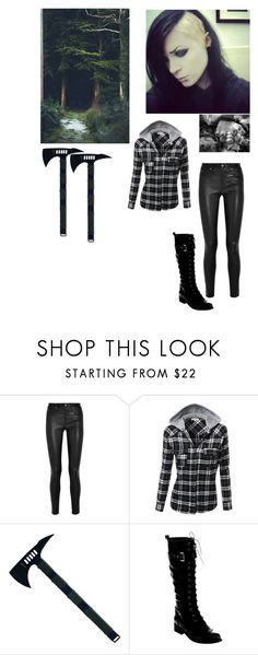"""""""*walks around in MY forest* // Angelo"""" by emo-vampire-nicole ❤ liked on Polyvore featuring Helmut Lang and Wild Diva"""