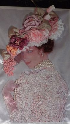 Wonderful Ribbon Embroidery Flowers by Hand Ideas. Enchanting Ribbon Embroidery Flowers by Hand Ideas. Silk Ribbon Embroidery, Embroidery Stitches, Embroidery Patterns, Embroidery Bracelets, Cross Stitches, Art Deco Paintings, Victorian Flowers, Christmas Swags, Ribbon Art