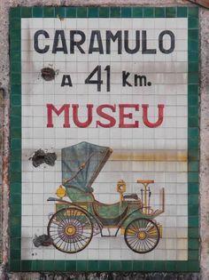 Azulejo publicitário, Museu do Caramulo