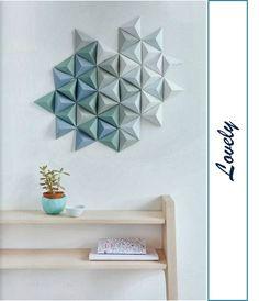 Hace ya algún tiempo que vi este panel para decorar una pared que comercializa Studio Snowpuppe, desde entonces estoy buscando un t...