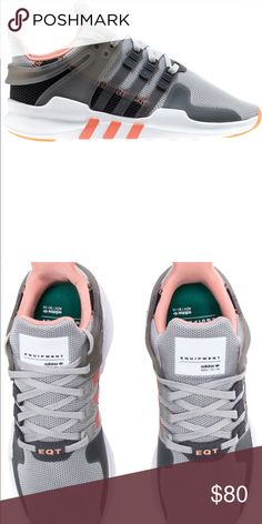 3c2e9b770301 Adidas EQT support adv woman s running shoe Adidas EQT support adv woman s  running shoe In gray pink white womans size 7 Brand new tags included Price  firm ...