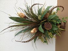 #Greenery #arrangement designed by Arcadia Floral & Home Decor