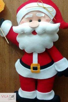 Patrones y Moldes de Santa Papa Noel Christmas Elf Doll, Felt Christmas Ornaments, Christmas Sewing, Noel Christmas, Christmas Decorations Sewing, Handmade Christmas Crafts, Holiday Decor, Foam Crafts, Diy Crafts