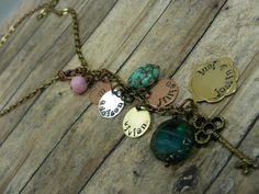 Handstampedpersonalizedcustommommy necklace by mybeadedbutterfly, $44.00