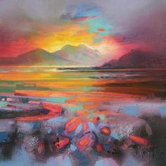 Scottish Loch Painting | Scott Naismith
