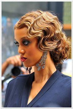 8 charmante Wasserwellen Frisuren                                                                                                                                                                                 Mehr
