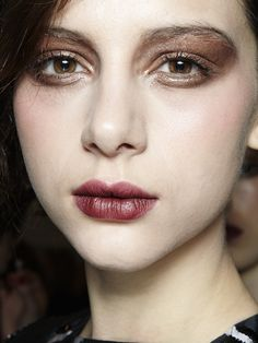 Bibhu Mohapatra F/W '13: http://beautyeditor.ca/2013/02/19/new-york-fw-13-get-ready-for-the-berry-or-wine-stained-lip/