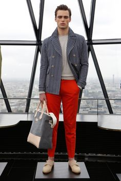 Hardy Amies Spring/Summer 2014 #menswear #LondonCollections #LC:M