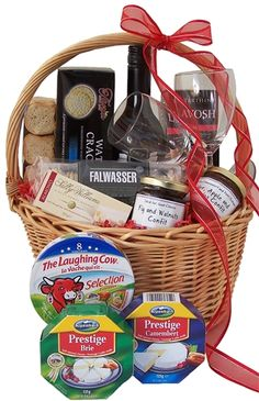 Wine and Cheese Gourmet Hamper | Gourmet Gift Basket | Same Day Gold Coast & Brisbane