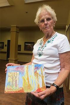 Art as Therapy—Can Creative Expression Soothe Dementia Symptoms? | ALZFORUM
