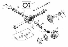 1000 Images About Jeep Rear Axle Parts On Pinterest