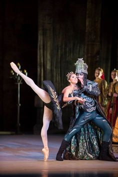 ABT's Misty Copeland and TWB's Gian Carlo Perez in 'Swan Lake' photo by Theo Kossenas | media4artists