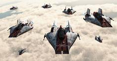 Alex Artista 3D: Arte Digital Star Wars A Wing