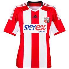 Brentford Home shirt 14/15 Team Shirts, Sports Shirts, Brentford Fc, Championship League, Football Kits, Adidas, Clothes, Tops, Design