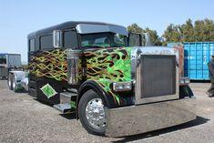 360 wheel base Pete Limo built by Botelho Custom Trucks in Los Banos, Ca, ...
