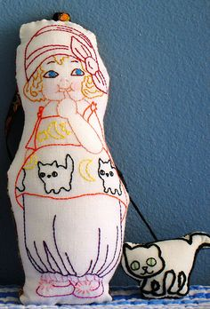 Dolly Dingle Halloween, via Flickr.
