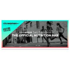 @perfectbar named THE OFFICIAL NUTRITION BAR for @nikewomen San Francisco // see you all there!!!! Going to be an amazing week   SD SF #sf #perfect #stayfit #travel #adventure #friends