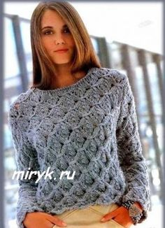 пуловер фото