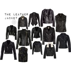 2 The Leather Jacket by chloefeather on Polyvore featuring polyvore, fashion, style, Balmain, Miss Selfridge, H&M, IRO, BLK DNM, Topshop and Forever 21