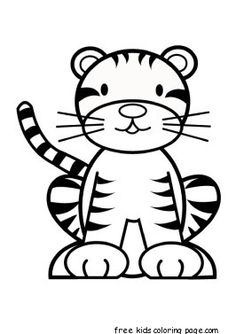 Coloring Pages Of Cute Tigers Tigers Coloring Pages Free Coloring Pages. Coloring Pages Of Cute Tigers Coloring Ideas Saber Tooth Tiger Colo. Zoo Animal Coloring Pages, Lion Coloring Pages, Kids Printable Coloring Pages, Sports Coloring Pages, Dinosaur Coloring Pages, Coloring Sheets For Kids, Cartoon Coloring Pages, Coloring Pages To Print, Coloring Books