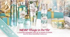COMING SOON: an enchanting NEW fragrance to make your Christmas PERFECT! #MagicInTheAir #PerfectChristmas