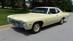 1968 Chevrolet Biscayne L72 427 - The rough idling, high-revving solid lifter L72 was installed to a minimal equipped, plain looking, two door Biscayne sedan fitted with the 425 horsepower version of the 427, the RPO L72, resulted in a vehicle whose performance was stellar! | Blog - MCG Social™ | MyClassicGarage™