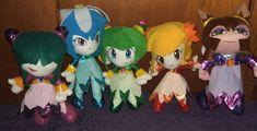 Lita Mitchell's Sonic the Hedgehog UFO Catchers