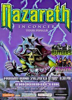 Nazareth Concert Poster https://www.facebook.com/FromTheWaybackMachine