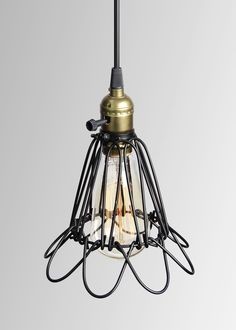 Edison Bird Cage Pendant Lamp Industrial Lighting UL SAA Antique Cage Pendant Lamp from China manufacturer - Lonwing Lighting Factory Co. Vintage Industrial Lighting, Bird Cage, Pendant Lamp, Retro Vintage, Ceiling Lights, China, Antiques, Home Decor, Antiquities