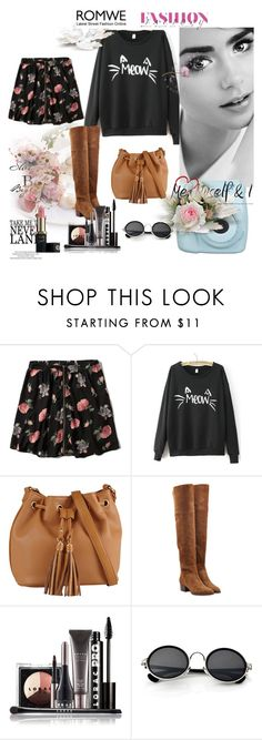 """""""Romwe Letters Sweatshirt"""" by dudavagsantos ❤ liked on Polyvore featuring Abercrombie & Fitch, ALDO, Chloé, LORAC, Retrò, women's clothing, women's fashion, women, female and woman"""