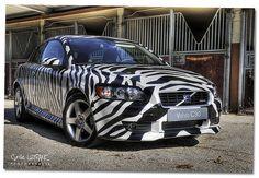 Volvo C30 Zebra R-Design Car