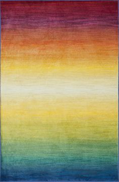 From Egypt, these contemporary rugs have been inspired by Western European and South American watercolor paintings. And because they're power loomed of 100% polypropylene, a durable and stain resistant fiber, the colors will remain vibrant for years ahead.