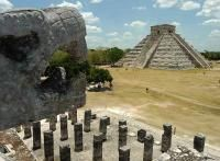 Chichen Itza was a large pre-Columbian city built by the Maya people of the Post Classic Top Places To Travel, Great Places, Amazing Places, Tour Around The World, Around The Worlds, Tulum, Cancun Tours, Akumal Mexico, Cozumel Island