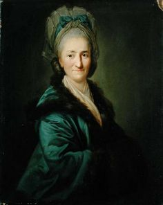 Portrait of an Old Woman, by Anton Graff (1736-1813, Swiss). Seems like a face that's used to smiling.