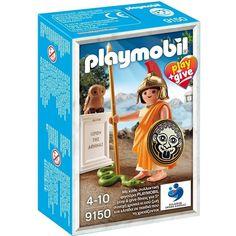 PLAYMOBIL 9150 PLAY & GIVE ATENEA DIOSES GRIEGOS (EDICION GRIEGA) http://www.playmundo.es/playmobil-9150-play--give-atenea-dioses-griegos-edicion-griega-10434-p.asp