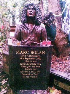Memorial to Marc Bolan